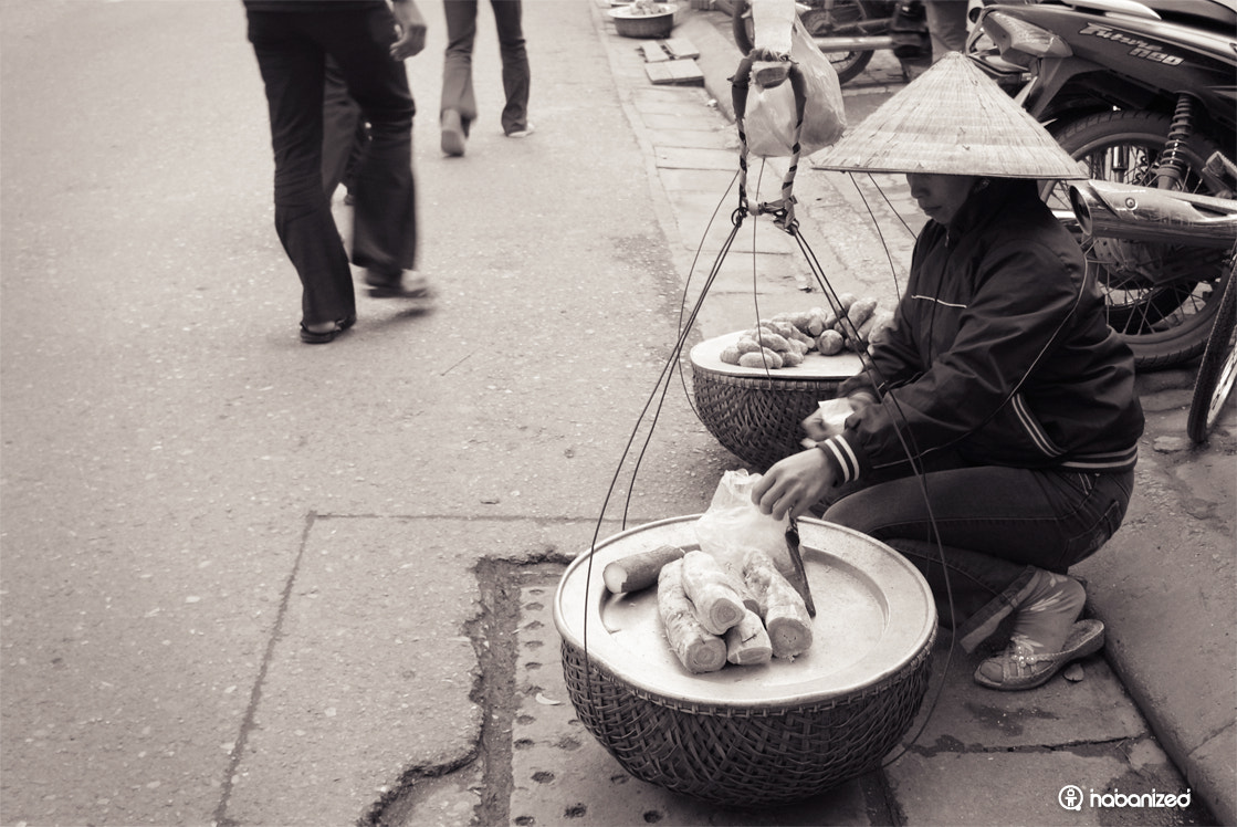 Photograph Street Vendor in Hanoi by Eugene W on 500px