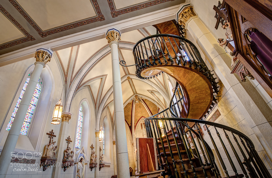 Photograph Loretto Chapel by Colin Wojno on 500px