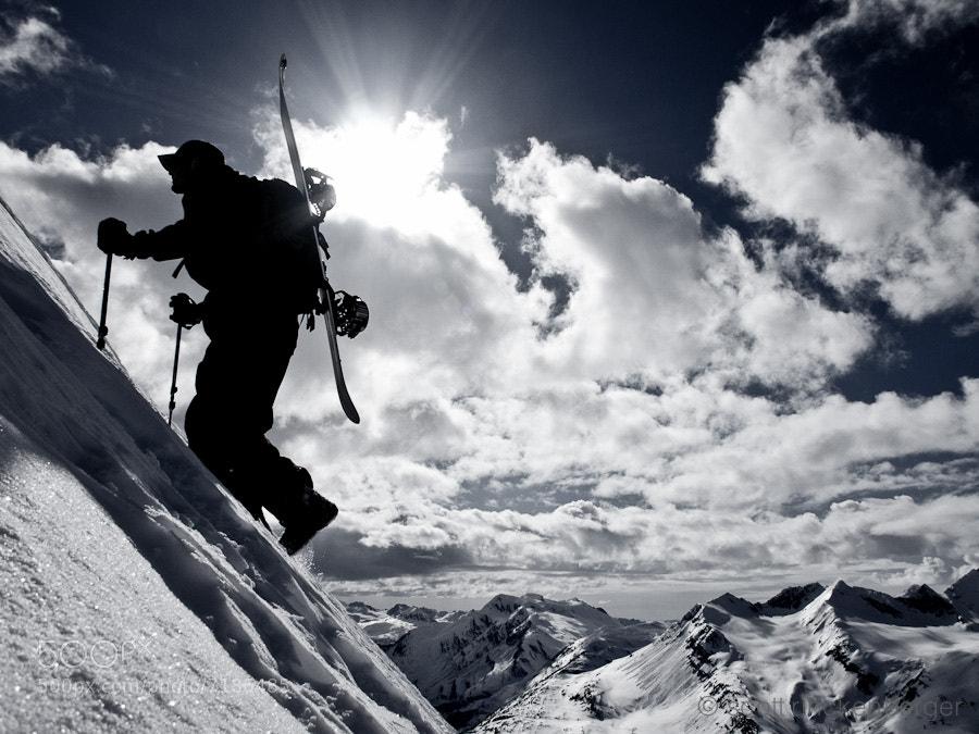 Photograph Climbing at Thompson Pass by Scott  Rinckenberger on 500px