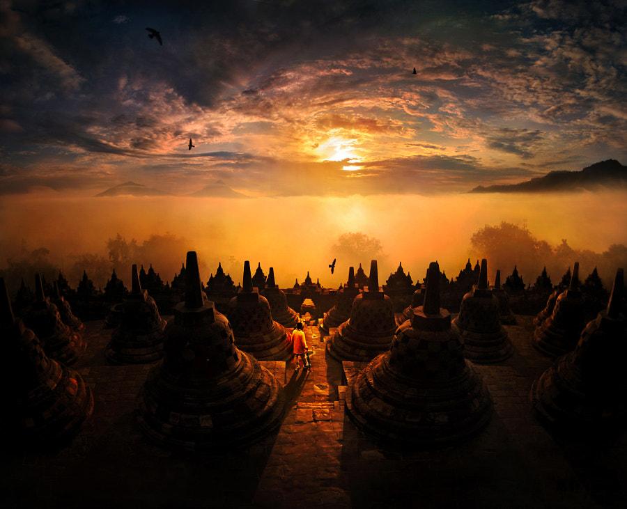 sunrise @ Borobudur