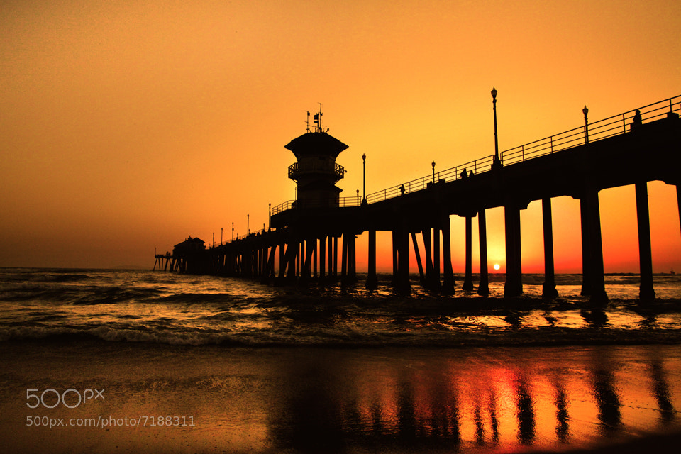 Photograph Beautiful Sunset at beach  by Phyo Wai on 500px
