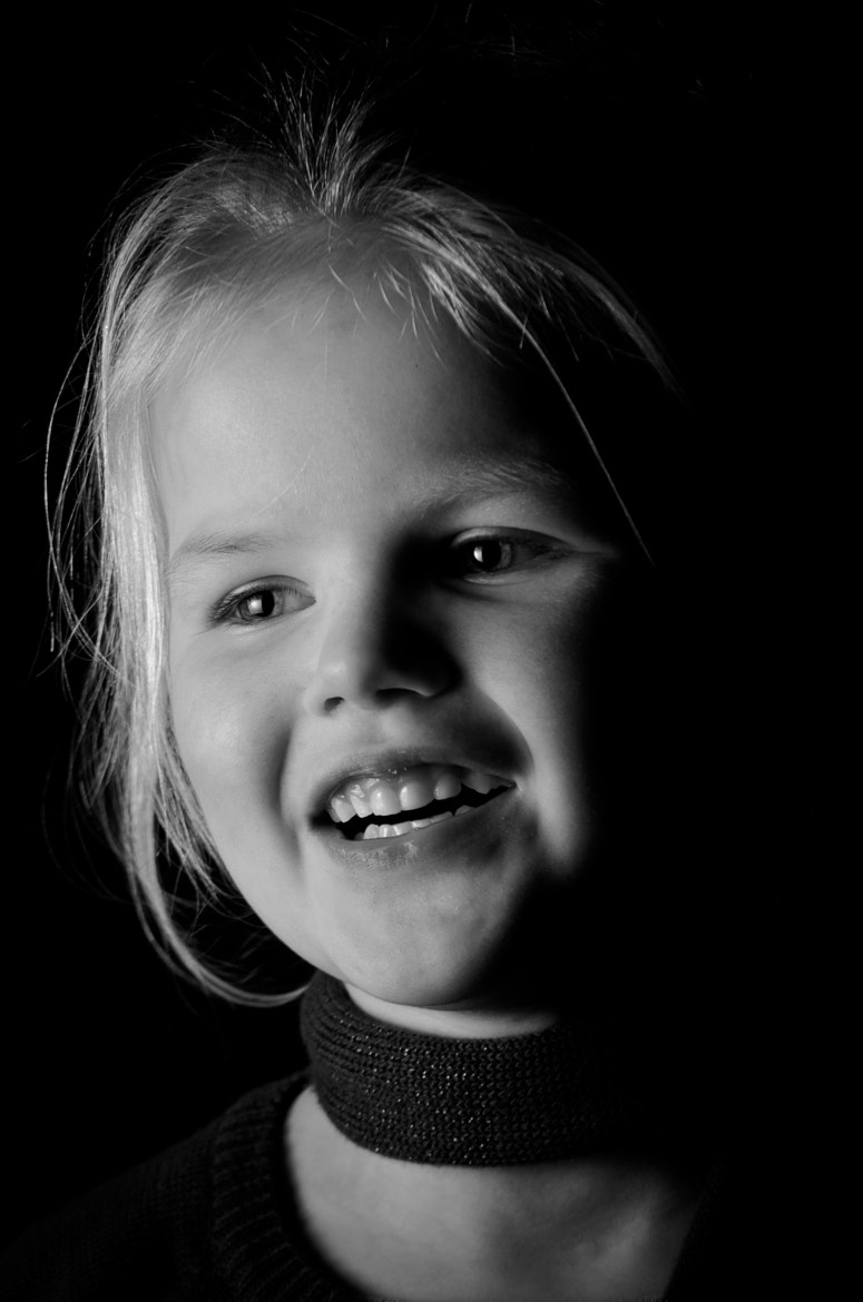 Photograph Happy Girl by Wieger Wijnia on 500px