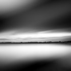 Постер, плакат: Lake in B&W