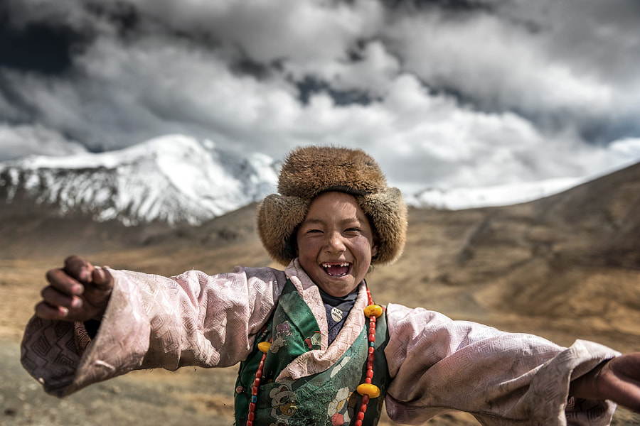 Smile {Tibet} by sarawut Intarob on 500px.com