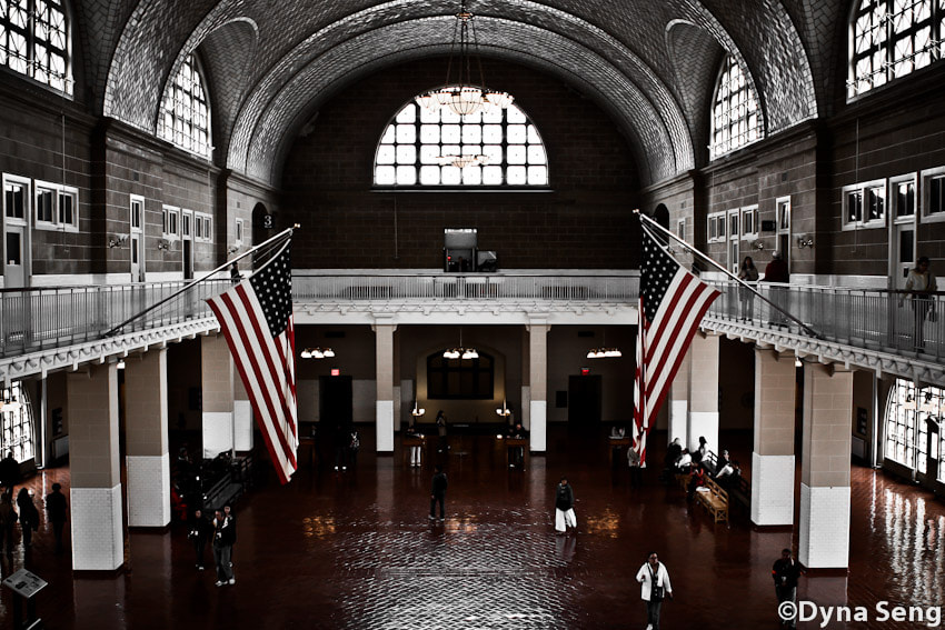 Photograph Ellis Island Immigration Museum by Dyna Seng on 500px