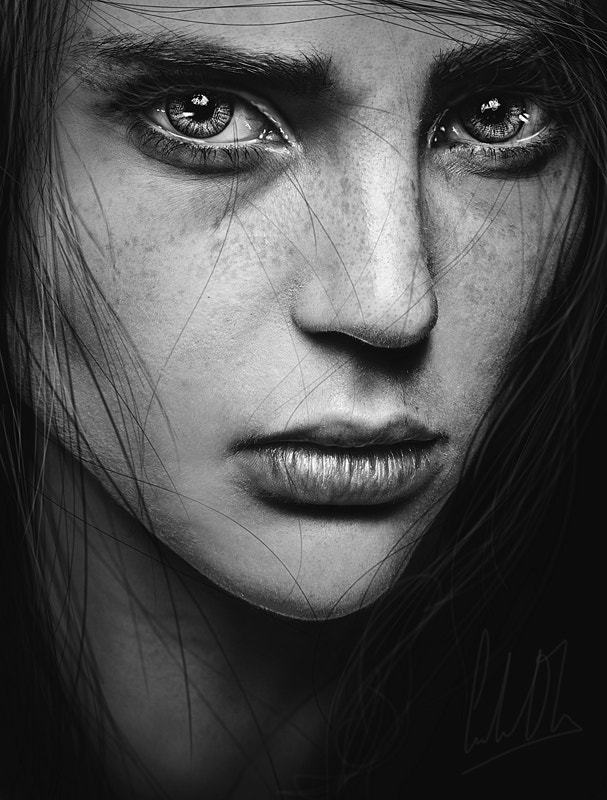 Black And White Portraits How To