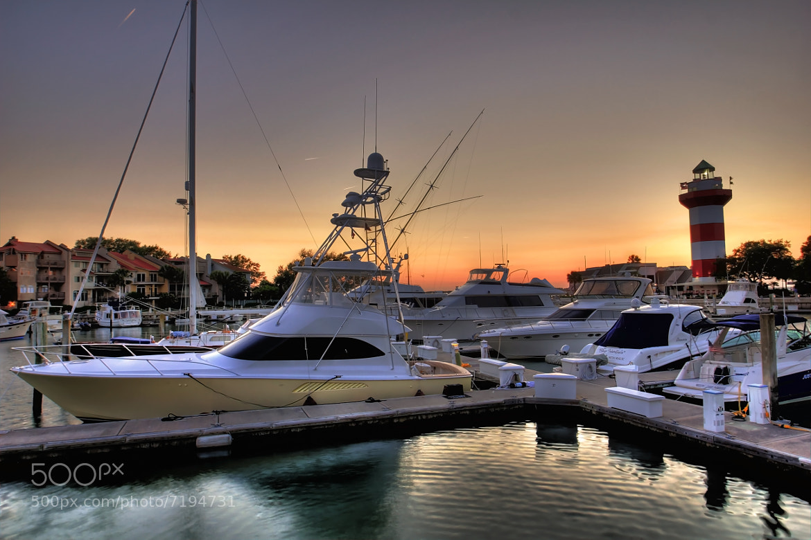 Photograph Harbour Town at Twilight by Brett Lance on 500px