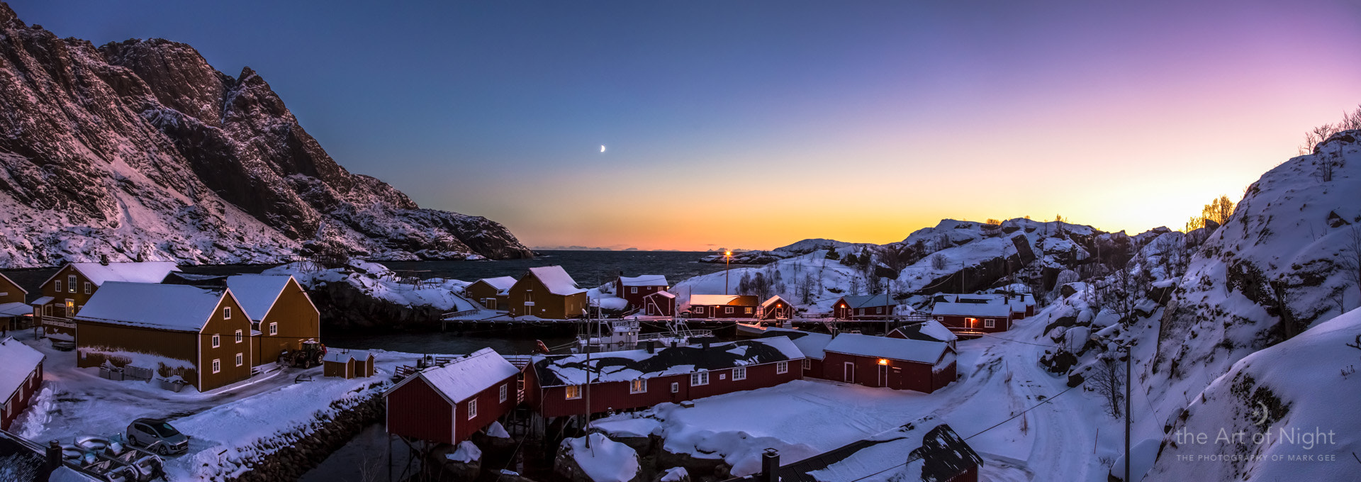 Photograph Arctic Twilight Over Nusfjord by Mark Gee on 500px