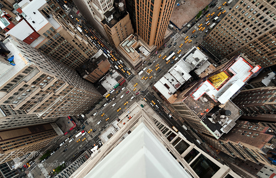 Intersection | NYC by Navid Baraty (navidbaraty) on 500px.com