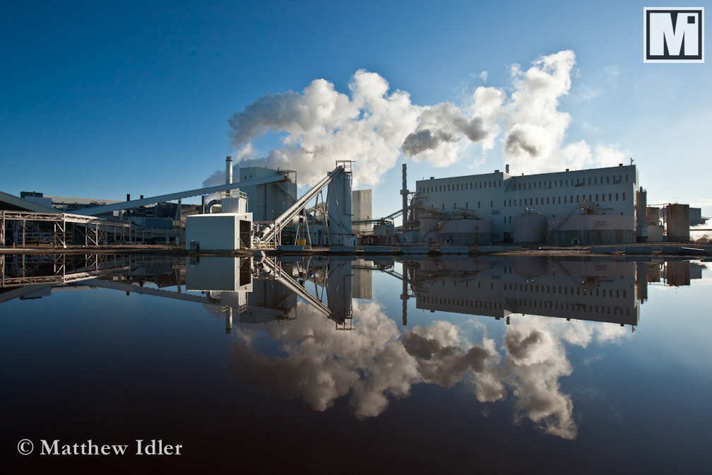 Photograph Reflection of the Industry by Matthew Idler on 500px