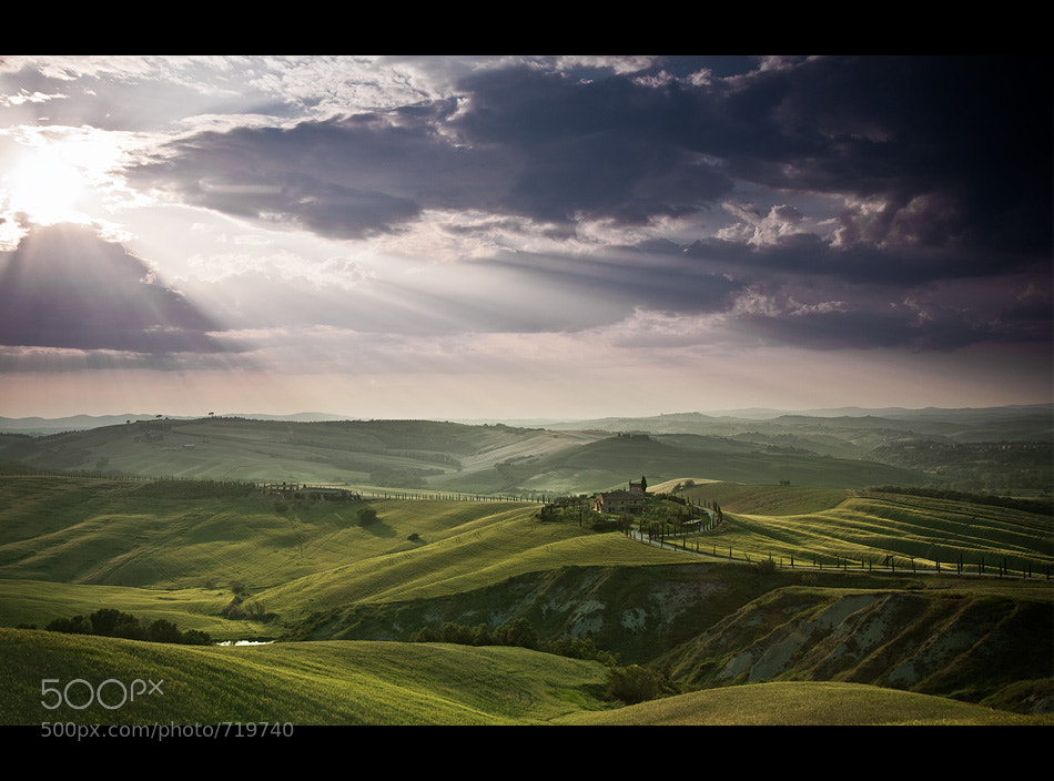 Photograph tuscany landscape by Jens  Fersterra on 500px