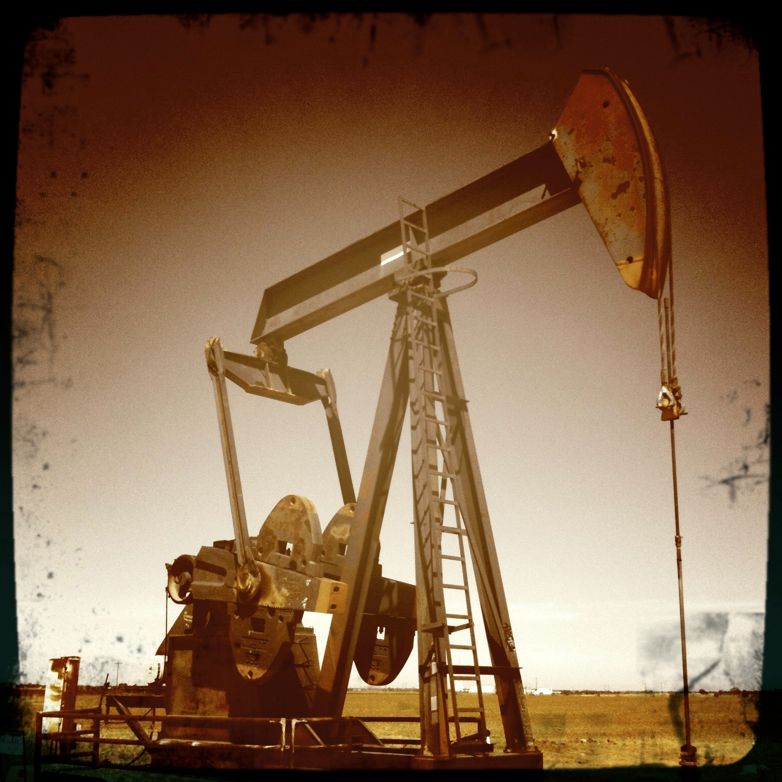 Photograph West Texas Oil Field Rig Pump by David Kozlowski on 500px
