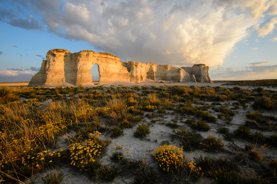 Monument Rocks by Camron Flanders on 500px.com
