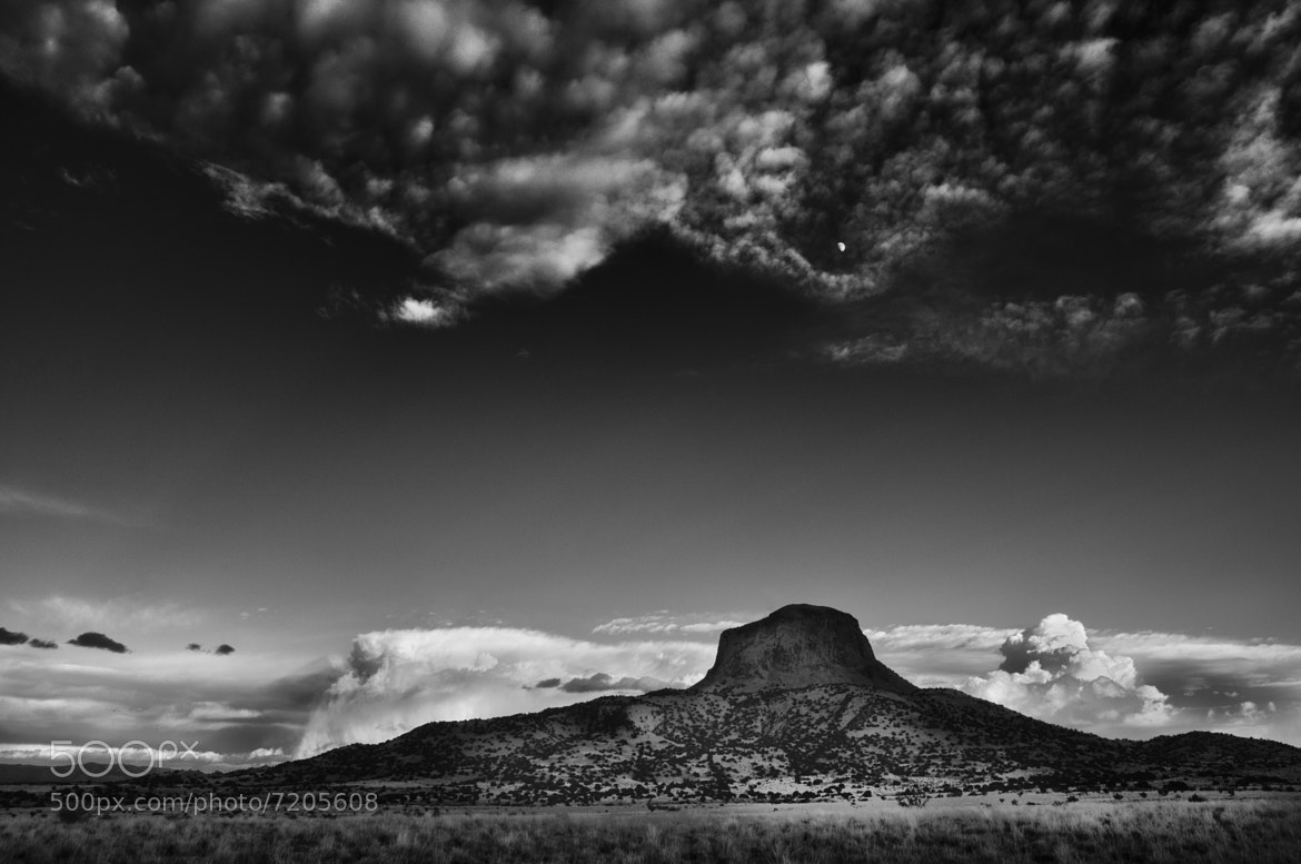 Photograph Distant Storms and Cabezon by Jory Vander Galien on 500px