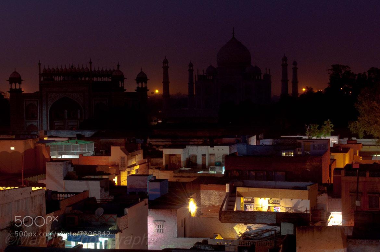 Photograph Taj at Night by Sumon Das on 500px