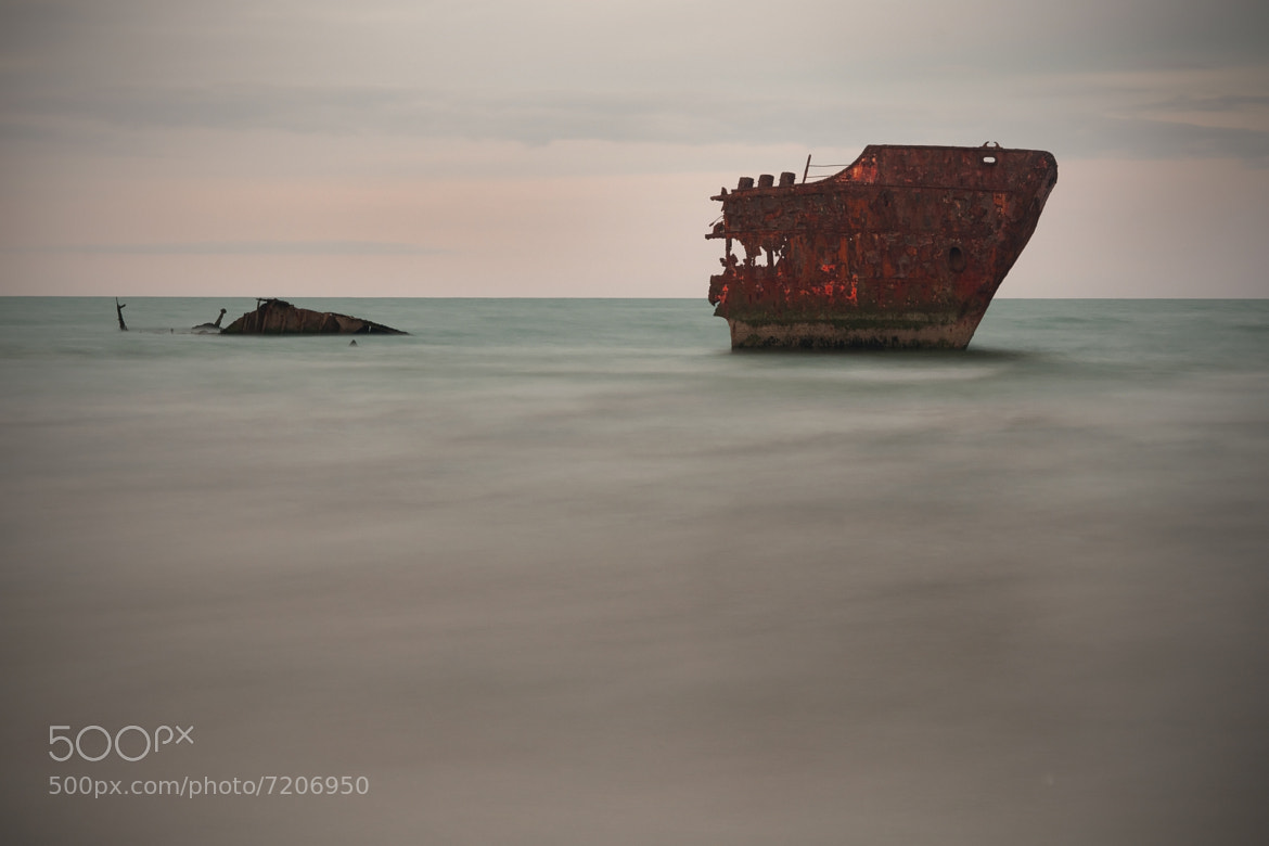 Photograph Shipwreck at Baltray by Barry McGreevy on 500px