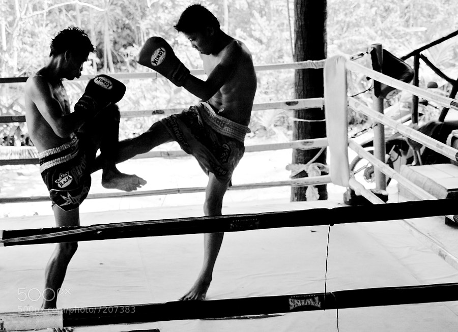 Photograph Thai Boxing by Barry Chignell on 500px