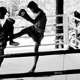 Thai Boxing by Barry Chignell (BChignell)) on 500px.com