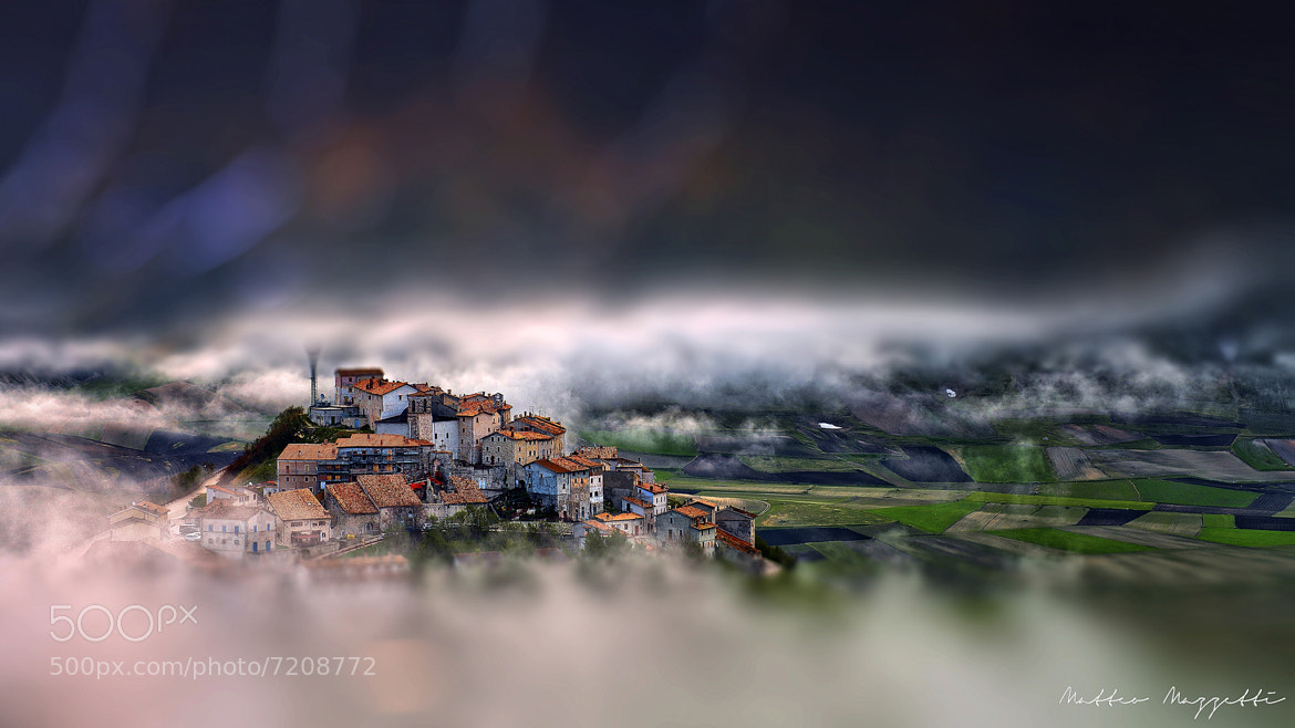 Photograph The Little Castelluccio by Matteo Mazzetti on 500px