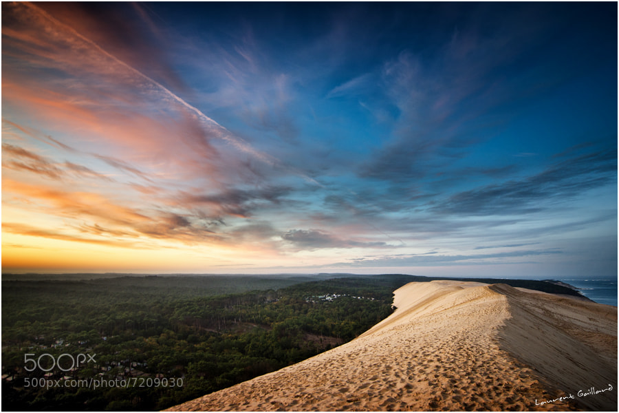 Photograph Sunrise on the top of the Dune by Laurent Gaillard on 500px