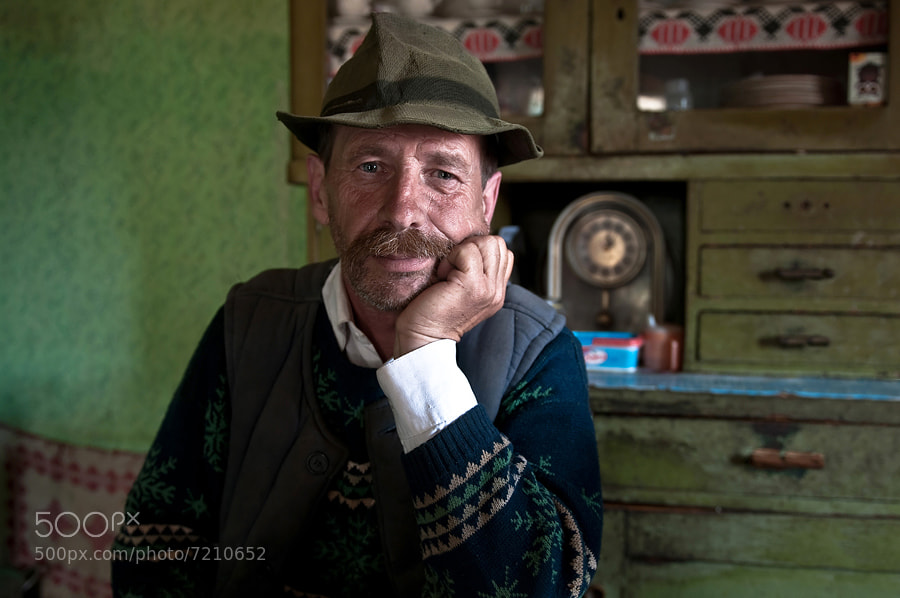 """Photograph A """"székely"""" man by Zoltan Huszti on 500px"""