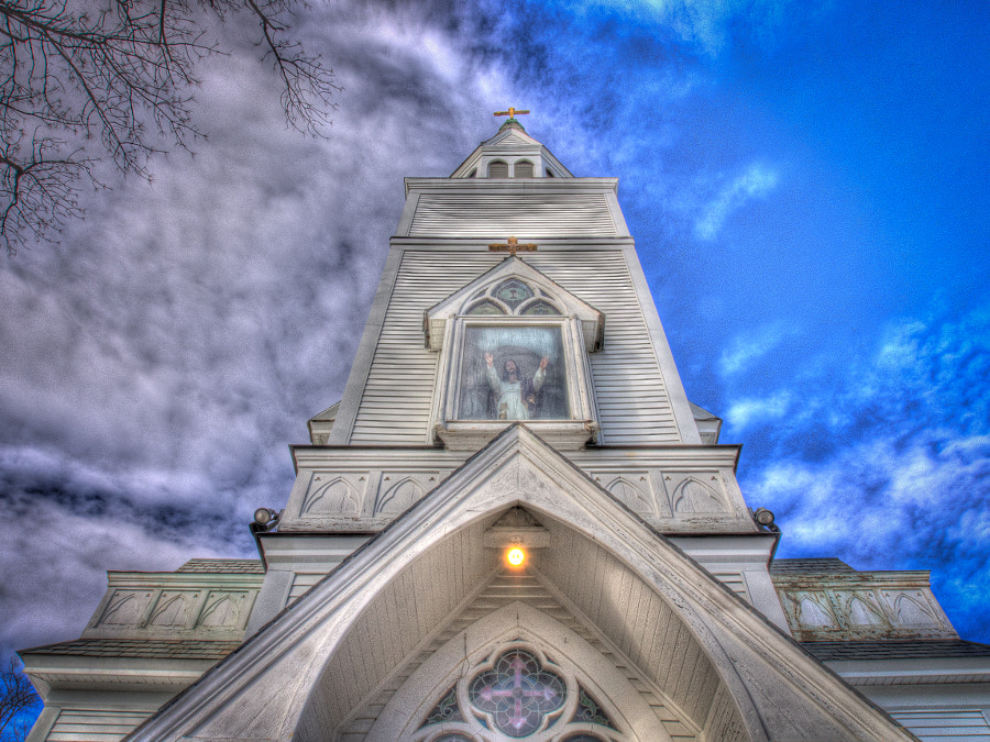 Sacred Heart Church by John Poltrack on 500px.com