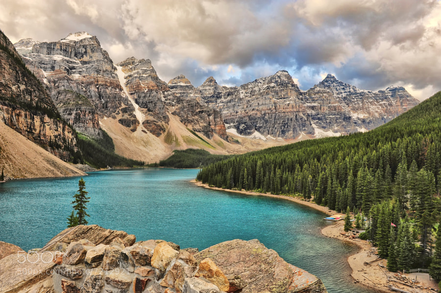 Moraine Lake Storm by Jeff Clow (jeffclow) on 500px.com