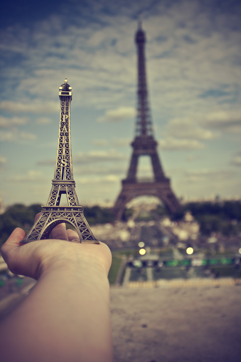 Photograph <i>France has its tower, and I have mine!  by Vanessa Hernández Carvajal on 500px