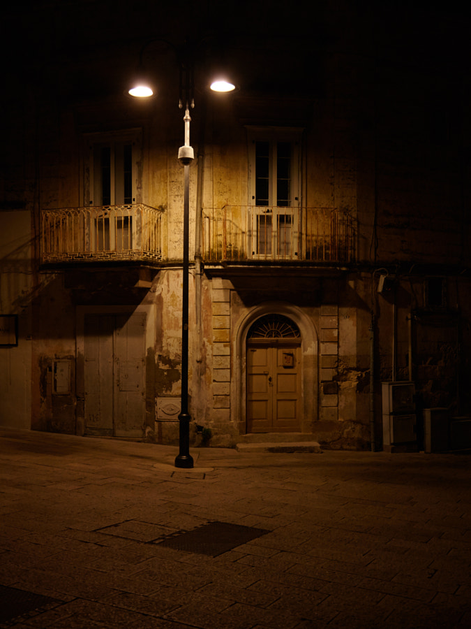 A late evening at Piazza San Giovanni Battista