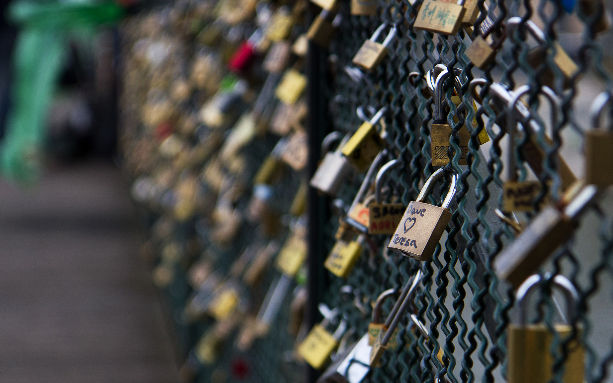 Photograph Love Locks by Baptiste Girod on 500px