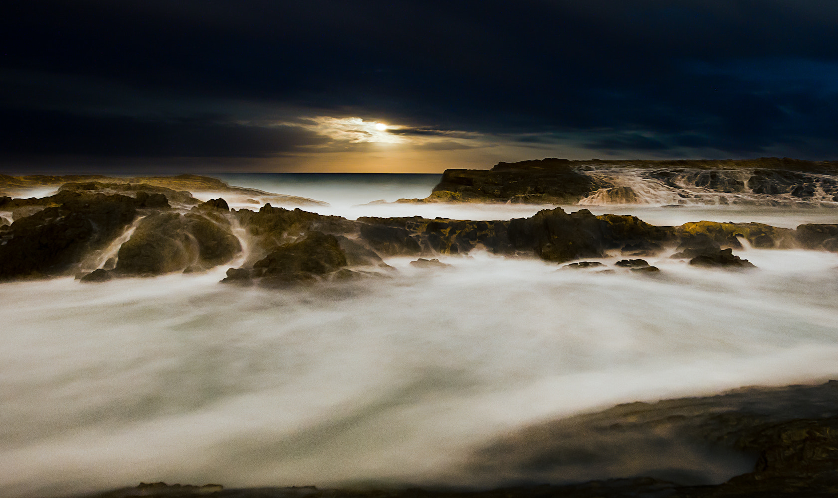 Photograph Stormy Moonrise by Jimmy - on 500px