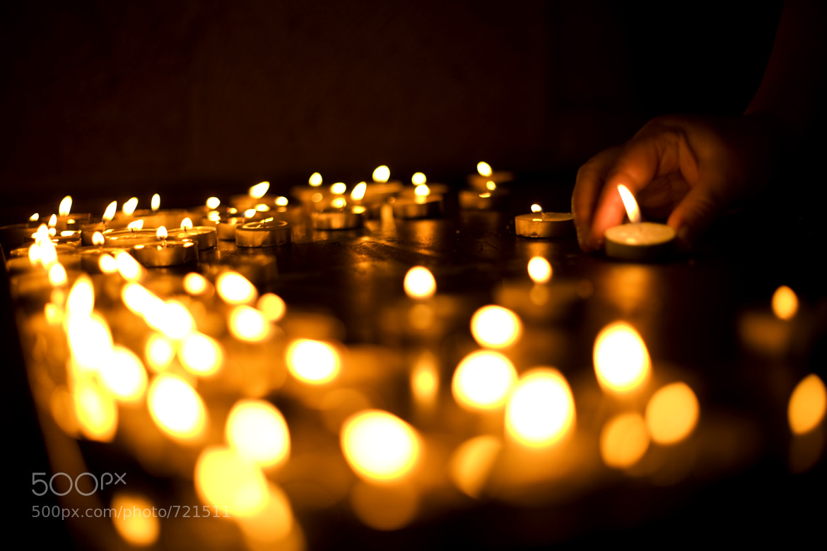 Photograph A Votive Offering by Andrew Langdal on 500px