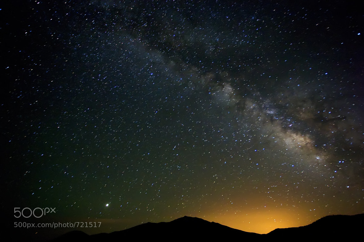 Photograph The Rising Galaxy by Andrew Langdal on 500px