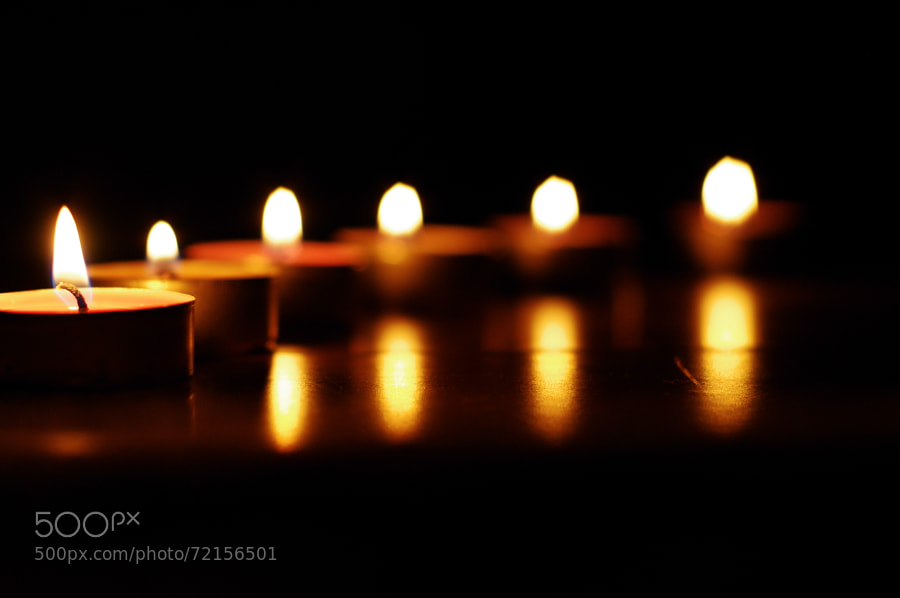Photograph candle by Selim Özköse on 500px