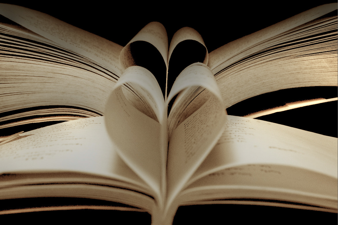 Photograph Love Books by jamil ghanayem on 500px