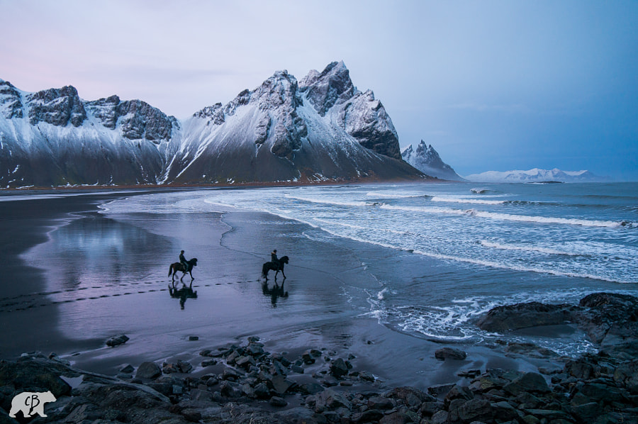 Photograph Horseback Riders at Vestrahorn by Chris  Burkard on 500px