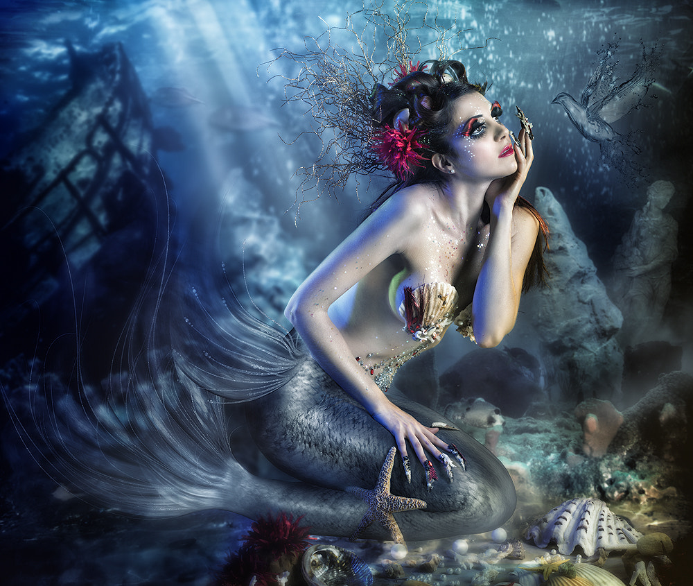 Photograph Siren by Rebeca  Saray on 500px
