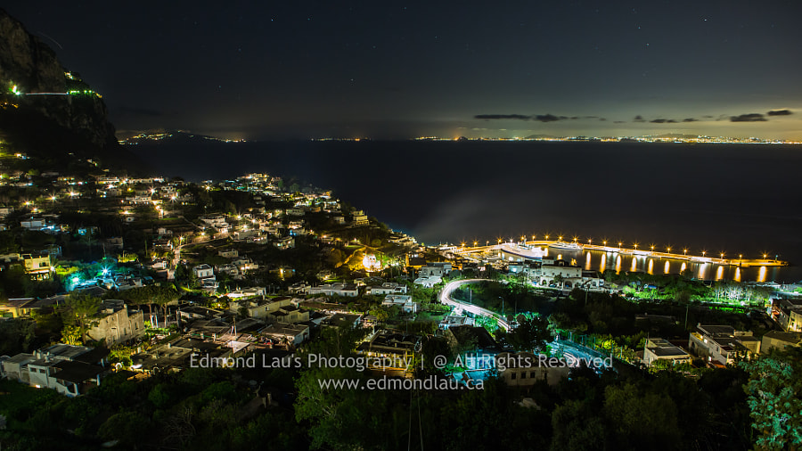 Capri at Night (1)