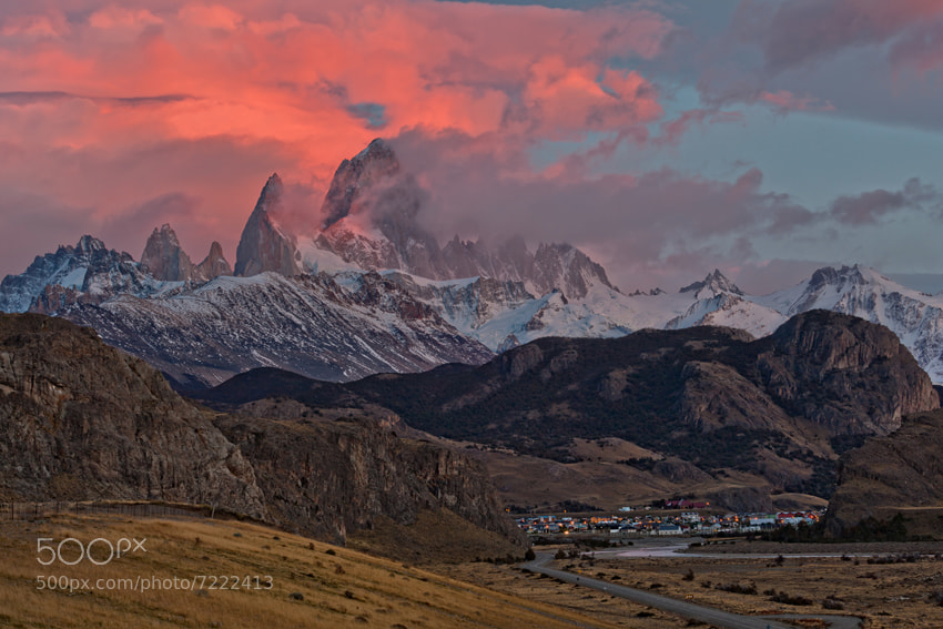 Photograph Fitz Roy by Helminadia Ranford on 500px