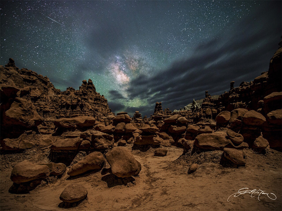 Fine Art Landscape Photography, Planet if the Goblins by landscape and nature photographer Dustin LeFevre
