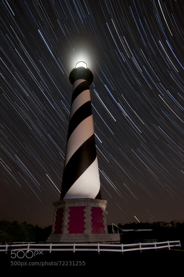 Photograph Hatteras startrails by Patrick Connelly on 500px