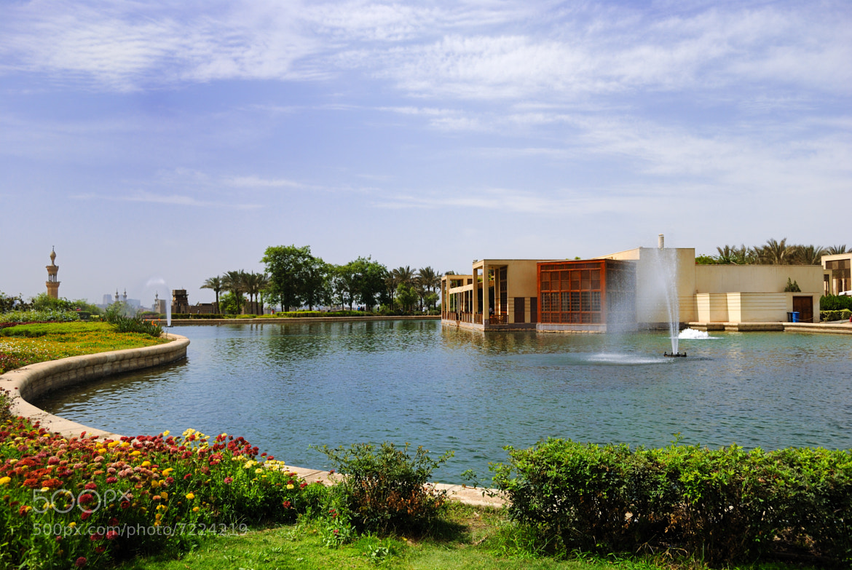 Photograph Al Azhar Park Lake 3 by Islam Elwakil on 500px