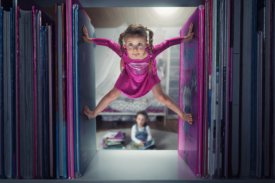Photograph Just a little Supergirl by John Wilhelm is a photoholic on 500px