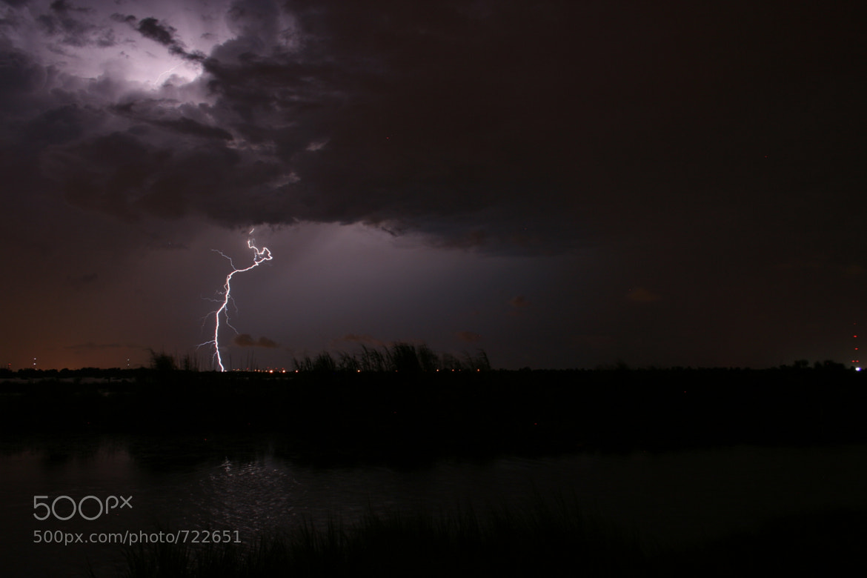Photograph Lightning On The Bayou by Lynn Magnuson on 500px