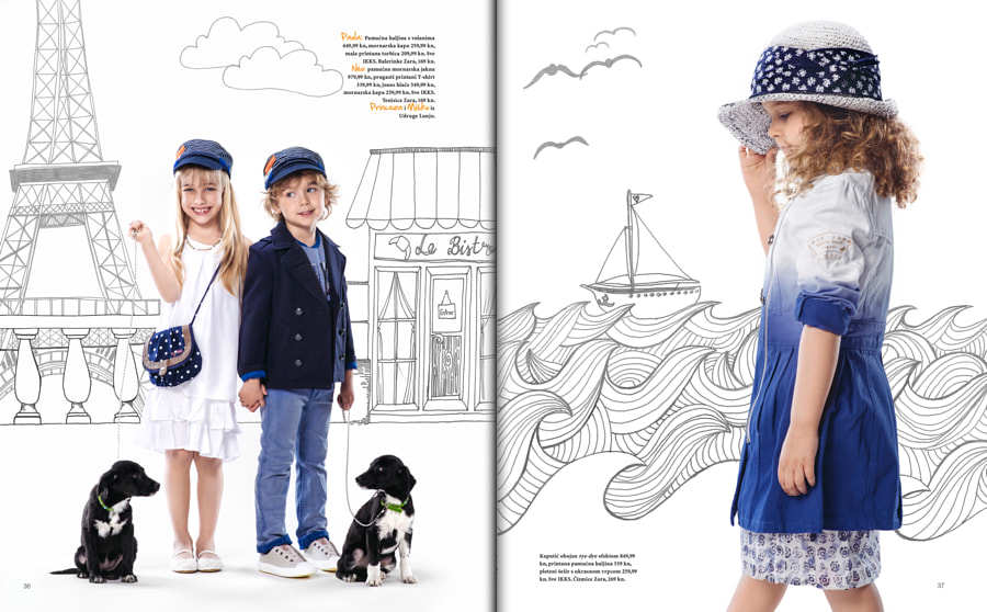 Grazia Junior, April 2014