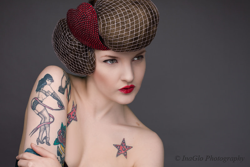 Photograph Millie Red Heart by InaGlo Photography on 500px