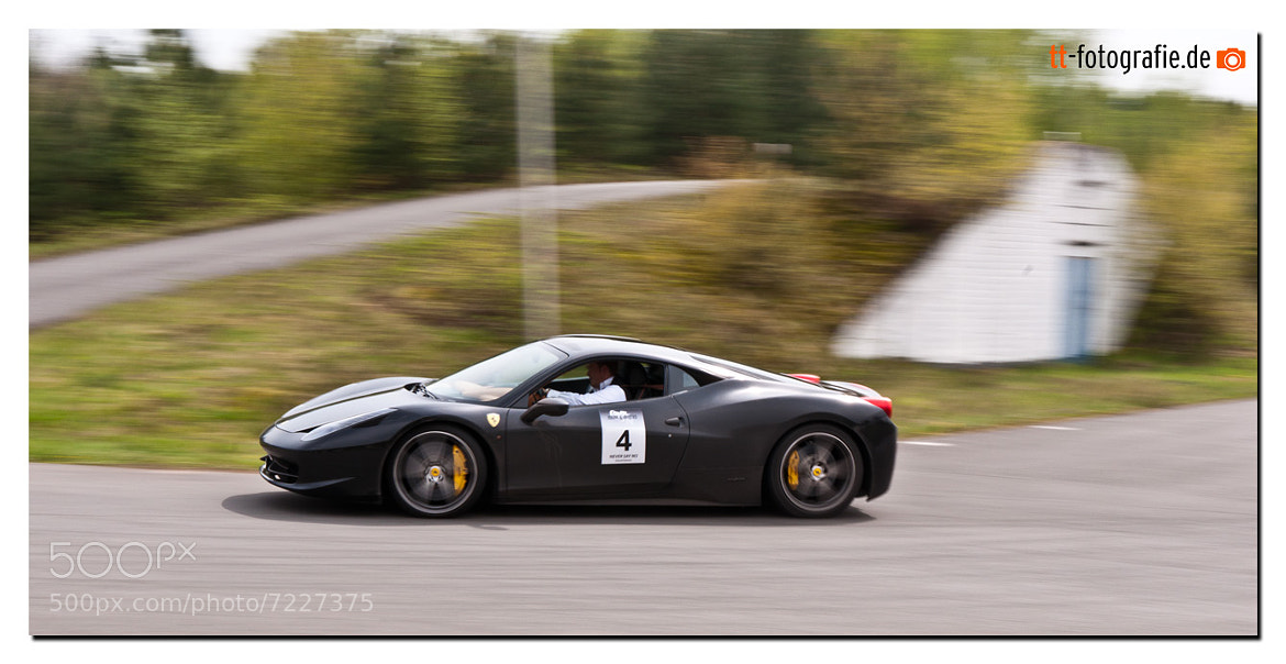 Photograph Ferrari 458 Italia by Timo Tewes on 500px
