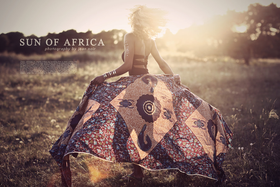 Photograph sun of africa by jean | noir   on 500px