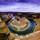 Постер, плакат: Horseshoe Bend