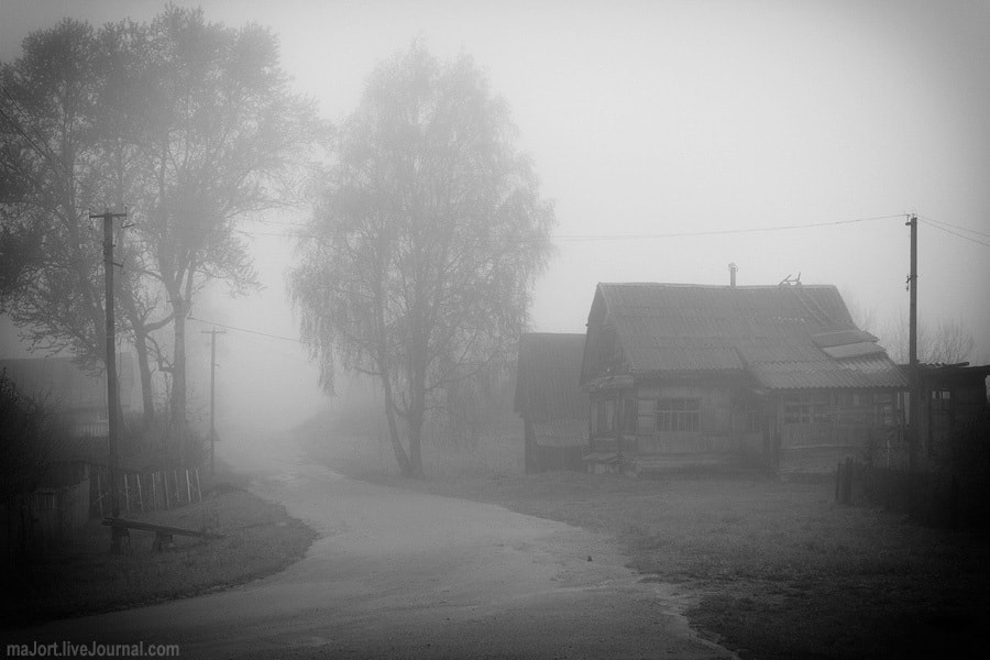 Photograph Land of fog. Road by Tatyana Makarova on 500px